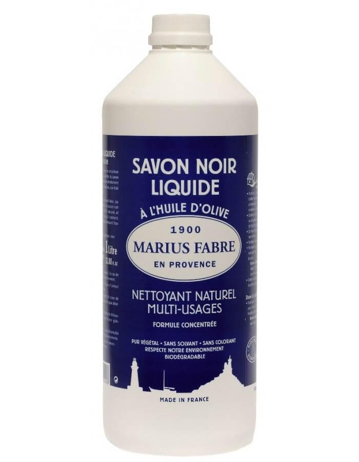 Marius Fabre vloeibare zwarte zeep of savon noir