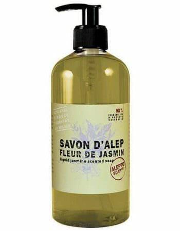 Vloeibare Aleppo zeep met Jasmijn - Savon d'Alep Liquide Fleur de Jasmin -SkinEssence.nl