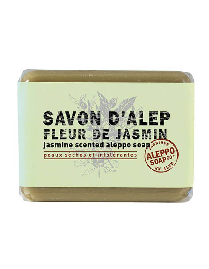 Jasmijn Aleppo Zeep - Savon d'Alep Fleur de Jasmin - www.skinsessence.nl