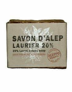 Aleppo Zeep van Aleppo Soap Co 20% laurierbesolie - www.skinessence.nl