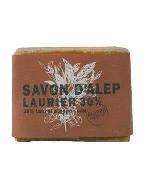 Aleppo Zeep van Aleppo Soap Co 30% laurierbesolie - www.skinessence.nl