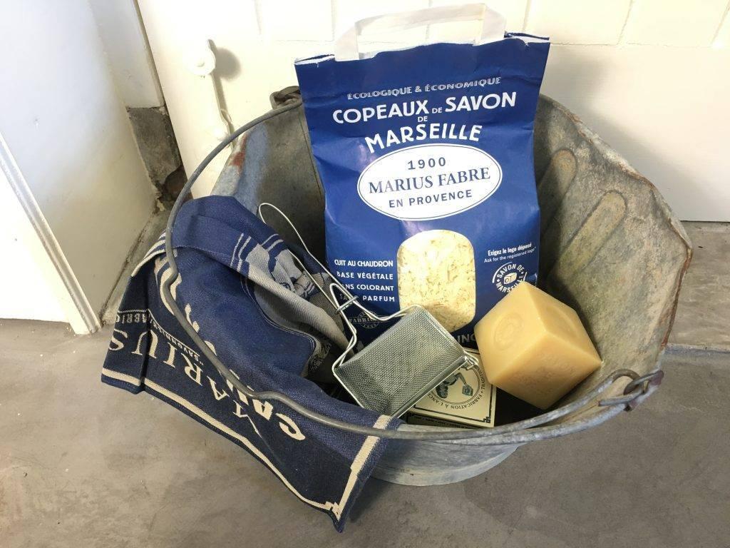 Zeepvlokken van Marius Fabre voor de handwas en de machine was: duurzaam wassen!