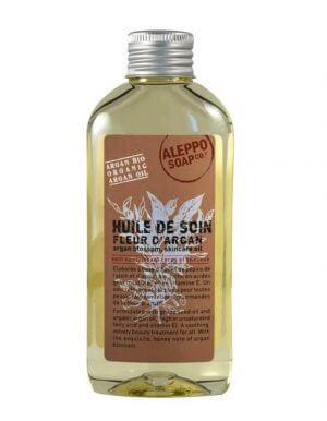 Verzorgende huidolie met Argan olie en parfum van Argan bloesem
