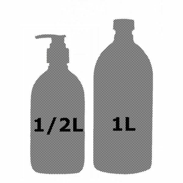 Voordelige aanbiedingen vloeibare zepen - een duo van een zeeppompje en een liter navulling