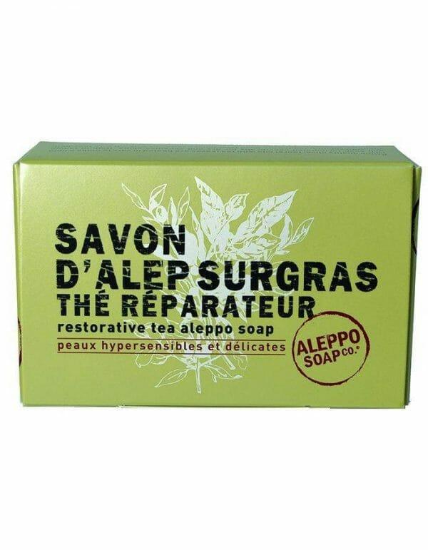 Aleppo Thee zeep voor zeer gevoelige en delicate huid