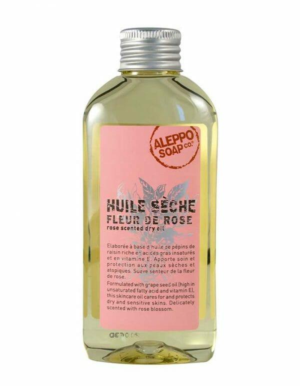 Aleppo Soap Dry Oil Fleur de Rose
