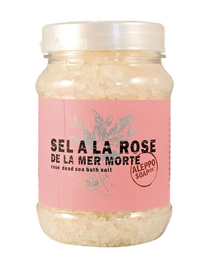 Dode Zeezout Roos van Aleppo Soap Co