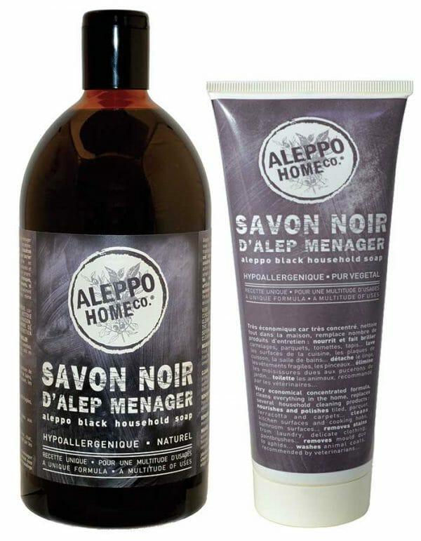 Aleppo Zwarte Zeep Duo van Aleppo Home Co
