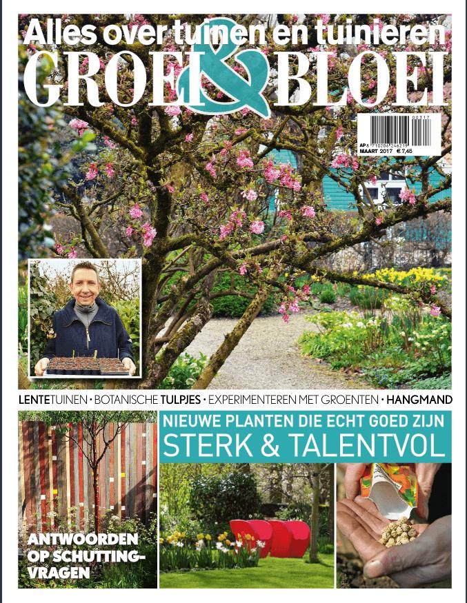Zwarte zeep voor de Tuin in Groei en Bloei maart 2017