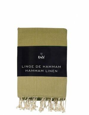 Tadé Hamamdoek Olijfgroen - Vert d'Olive - SkinEssence.nl