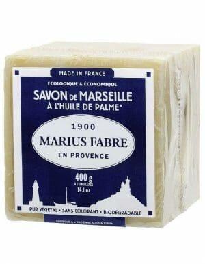 400B Marius Fabre Marseillezeep voor de was - verpakt in cellofaan - SkinEssence.nl