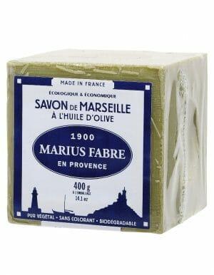 Marius Fabre Marseillezeep 400gram van olijfolie in cellofaan