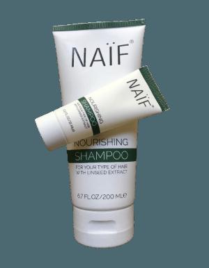 Naïf Voedende Shampoo 200ml met gratis Travel Mini 15ml