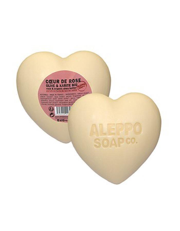 Zeephart Roos Aleppo Soap Co met bio olijfolie en kariteter - SkinEssence.nl