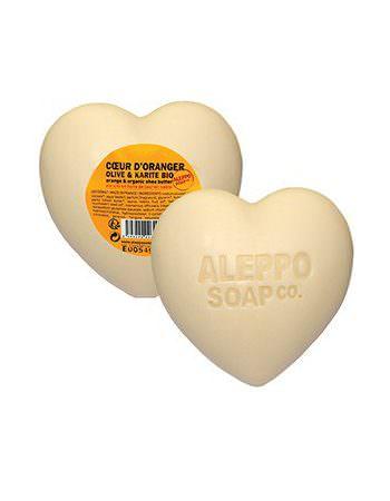 Zeephart Alep van Aleppo Soap Co met bio olijfolie en kariteboter - skinesence.nl