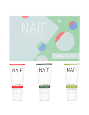 Naif Skinny Dip Kit - Gift Set met douchegel, shampoo en conditioner