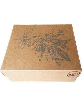 Geschenkverpakking van Alleppo Soap Co - Cadeaudoos - leeg - SkinEssence.nl