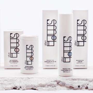 Natuurlijke huidverzorging van SMPL SKIN, gegarandeert zonder overbodige ingrediënten HAFB